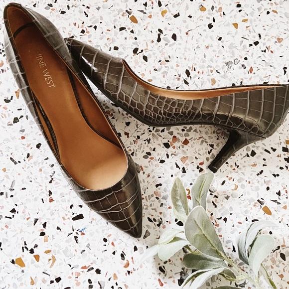 Shoes | Nine West Sale Alligator Print